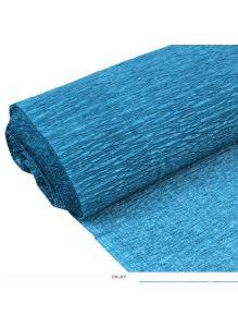 Бумага гофрированная поделочная 50*200см морская волна «Darvish»