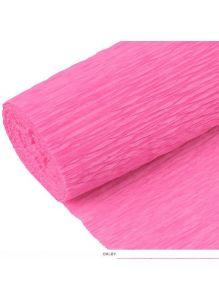 Бумага гофрированная поделочная 50*200см светло-розовая «Darvish»
