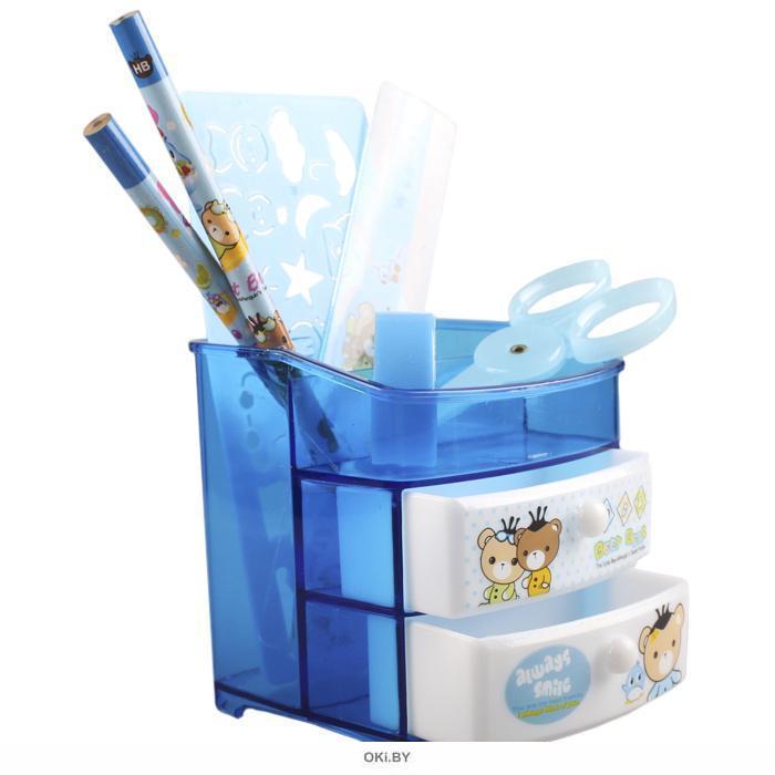 Набор канцелярский настольный детский «Darvish» (7 предметов)