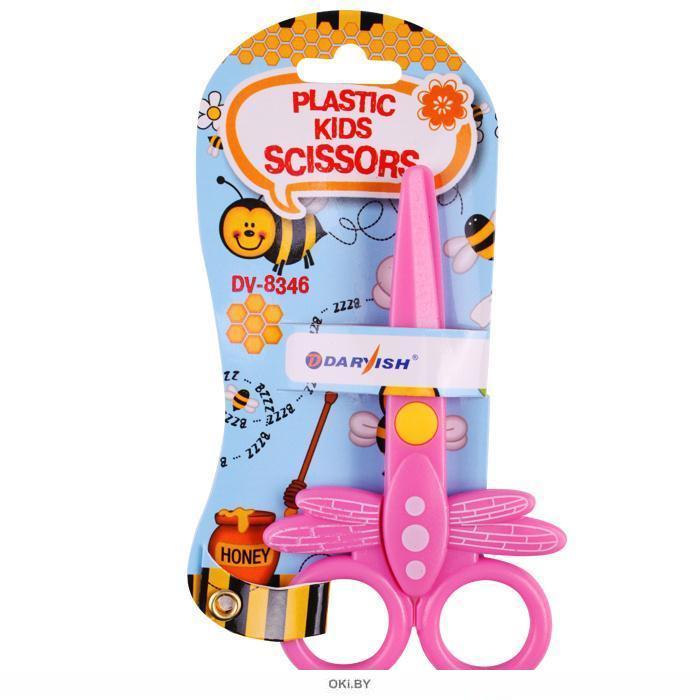 Ножницы 12см «Darvish» детские пластиковые
