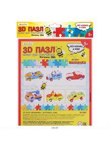 Пазл 3D «Машинка»