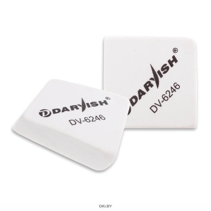 Ластик «Darvish» квадратный белый