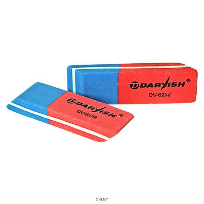 Ластик «Darvish» сине-красный (арт. 021397)