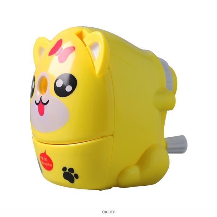 Точилка механическая «Darvish» (ассорти) в форме котика