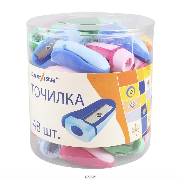 Точилка пластмассовая «Darvish» (ассорти)