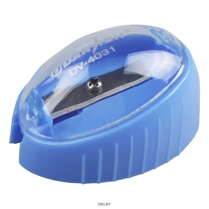 Точилка пластмассовая «Darvish» с контейнером (ассорти)