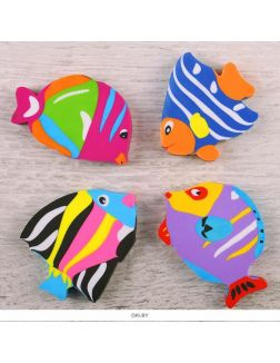 Ластик «Darvish» цветной «Рыбка»