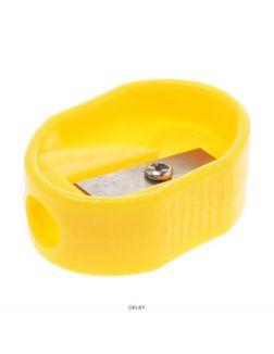 Точилка пластмассовая «Darvish» (ассорти) овальная