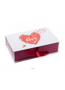 КОРОБКА ДЛЯ ПОДАРКА картонная «Love» 20*12,5*5 см (арт. 26614807, код 478397)
