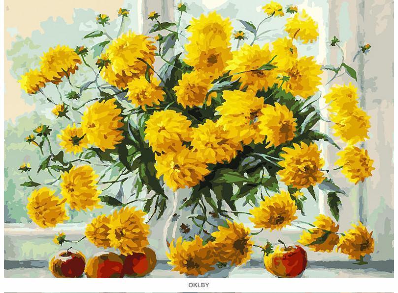 «Золотые» картина на холсте (30 х 40 см) 284-AS
