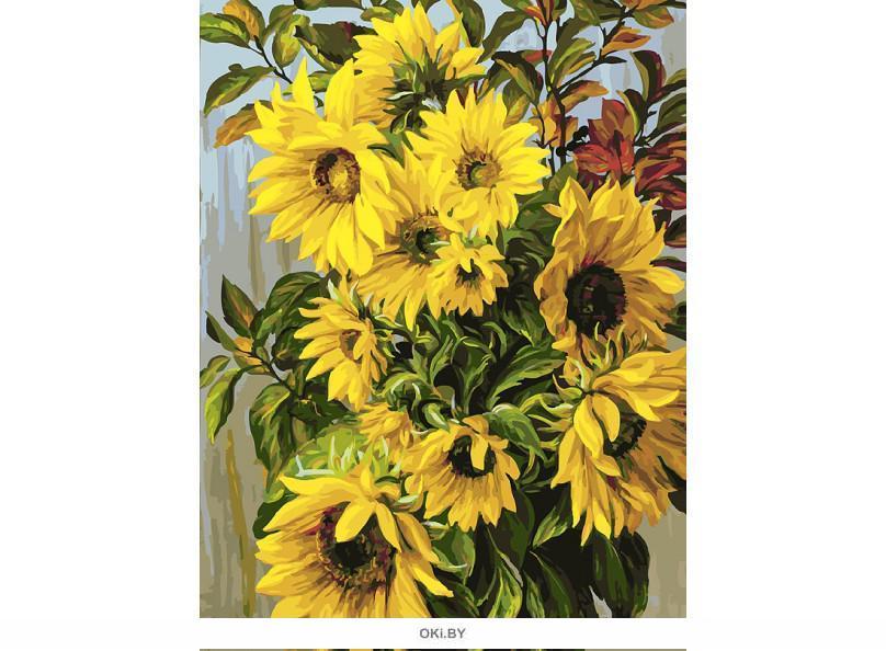 «Отражения солнца» картина на холсте (30 х 40 см) 264-AS