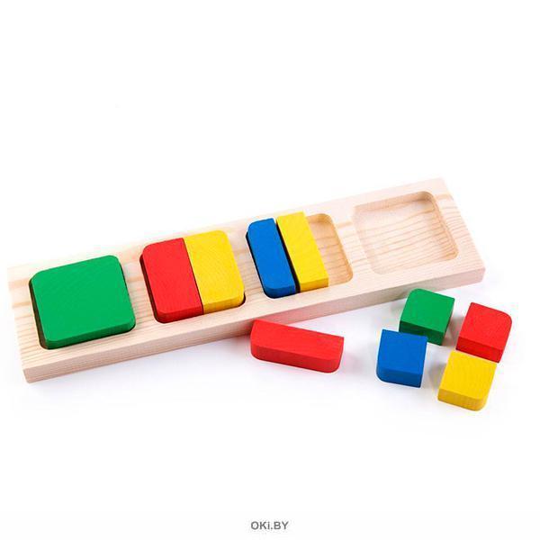 Геометрия квадрат - рамки и вкладыши (арт. 332)
