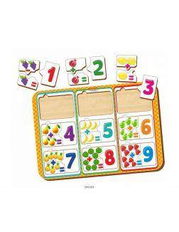 Пазлы-примеры - обучающая игра