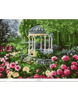 Аромат розы. Картины по номерам 40х50 см (кол-во красок 24, арт. РН-112)
