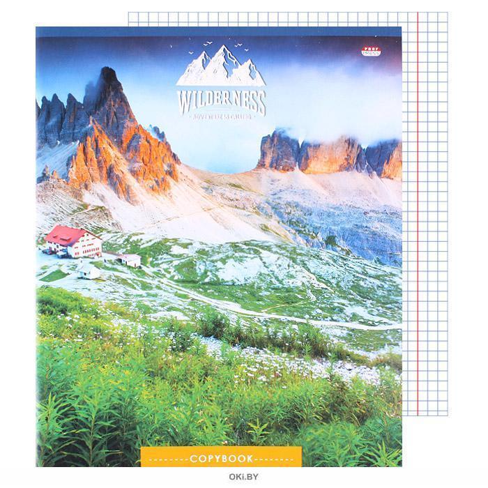 Тетрадь 80л кл. «Красочные пейзажи» обложка цветная мелованная