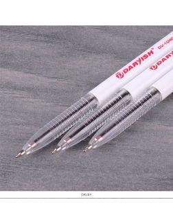 Ручка шар. красная «Darvish» корпус белый