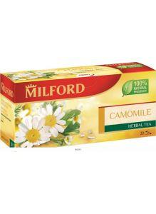 Напиток чайный в фильтр-пакетах для разовой заварки РОМАШКА. МИЛФОРД, 20*1,5г
