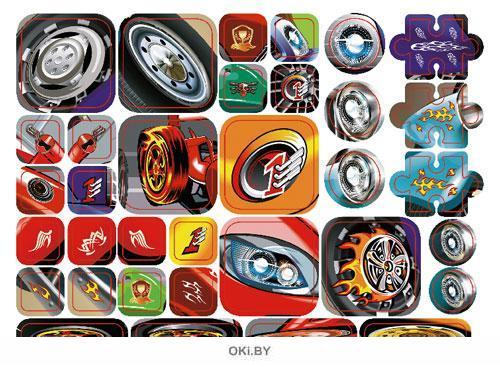 Тачку на прокачку №6 (19) волшебные наклейки