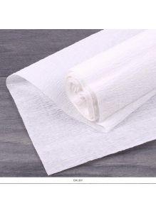 Бумага гофрированная поделочная 50*200см белая «Darvish»