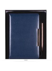 Набор подарочный. Ежедневник А5 140 листов с ручкой «Darvish» (ассорти)