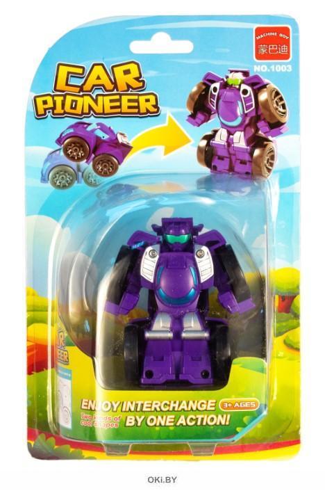 Машинка - трансформер «Мини-робот» (maya toys, 1003)