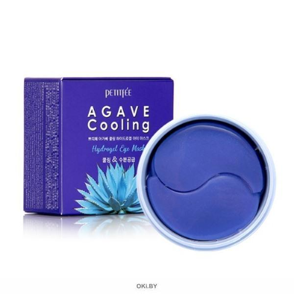 Гидрогелевые маски для области вокруг глаз «Агава» / Petitfee Agave Cooling Hydrogel Eye Mask (Petitfee)