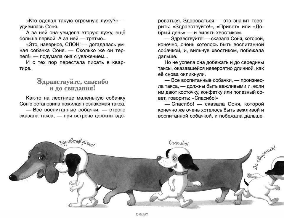 Умная и знаменитая собачка Соня (Усачев А. А. )