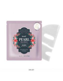 Гидрогелевая маска для лица «Жемчуг и масло Ши» / Koelf Pearl & Shea Butter Mask Pack (Koelf)
