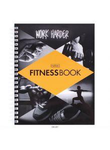 Фитнес дневник А5 96л «Work harder» Хатбер