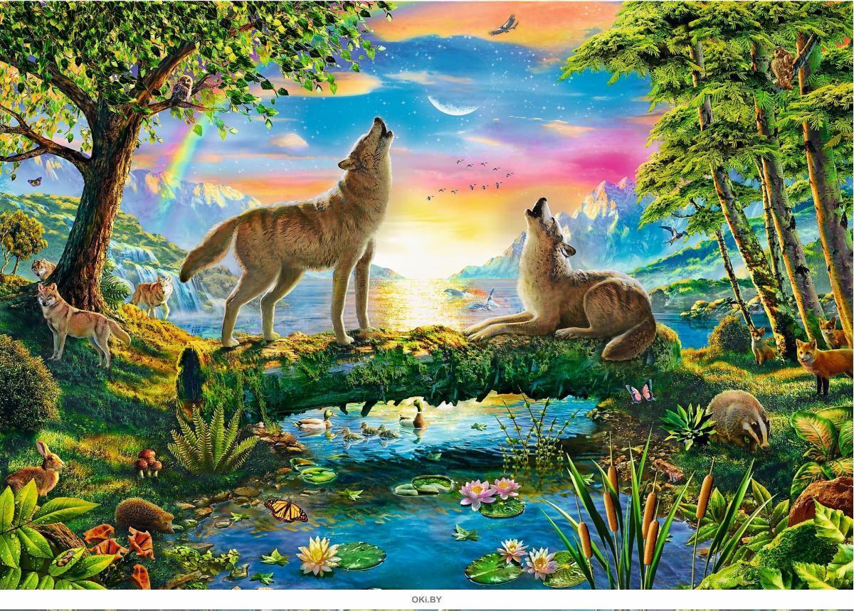 Пазл «Волчья натура» (500 элементов)