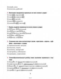 Русский язык. Тесты для тематического и итогового контроля. 6 класс (Балуш Т. В. )