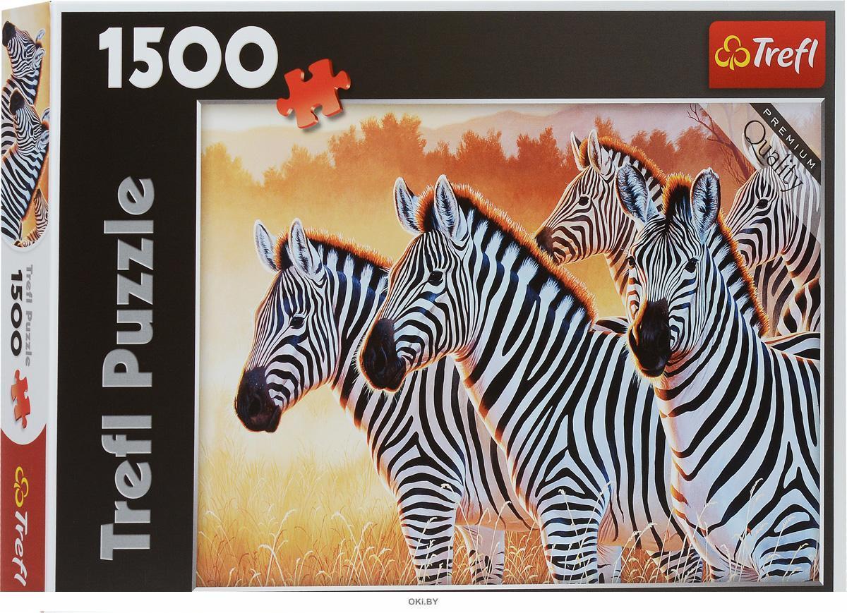 Пазл «Зебры» (1500 элементов)