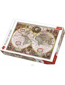 Пазл «Историческая карта мира (2000 элементов)