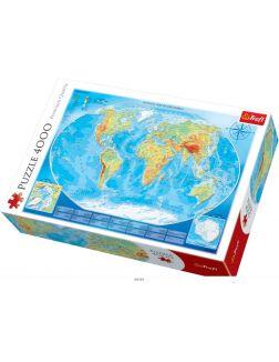 Пазл «Карта мира» (4000 элементов)
