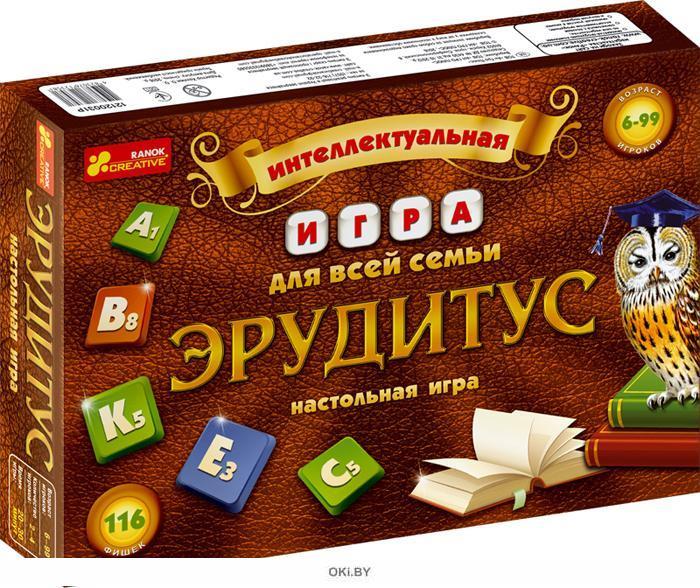 Эрудитус - интеллектуальная игра для всей семьи