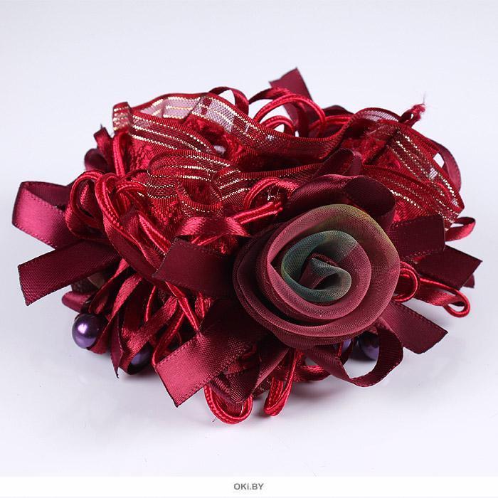 Резинка для волос декоративная объемная в ассортименте (арт. 033478)