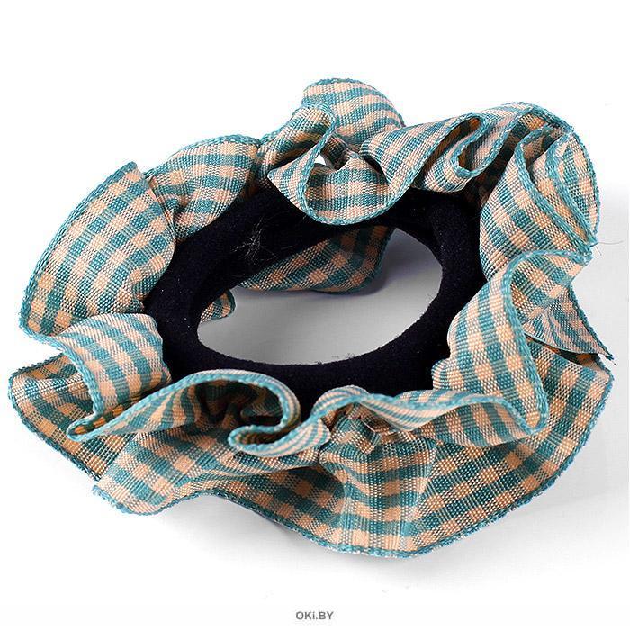 Резинка для волос с рюшей , цвет ассорти (арт. 033411)