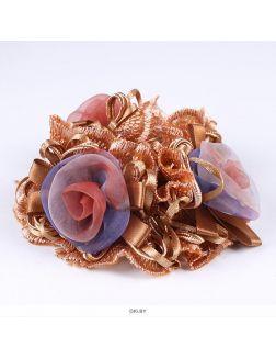 Резинка для волос декоративная объемная в ассортименте (арт. 033479)