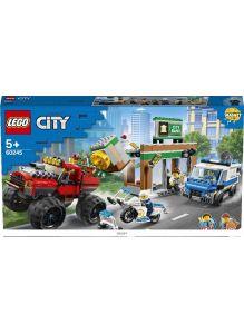 Ограбление полицейского монстр-трака (Лего / Lego city)