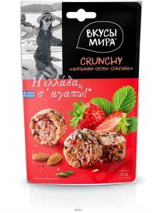 Crunchy Клубника-орехи-семечки