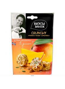 Crunchy Манго-орехи-семечки