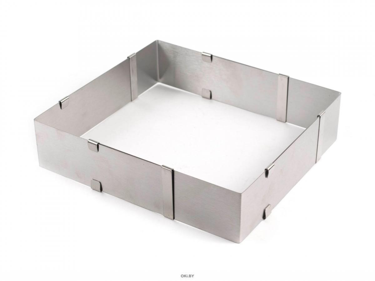 ФОРМА ДЛЯ ТОРТА металлическая разъемная 16*16-28*28 см (арт. 263902)