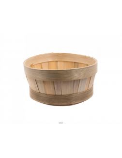 КОРЗИНА бамбуковая плетеная окрашеная 18*7,5 см (арт. KO14001b, код 202270)