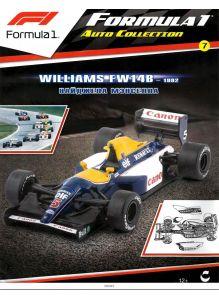 Автоколлекция Формула 1 / Formula 1 Auto Collection № 7