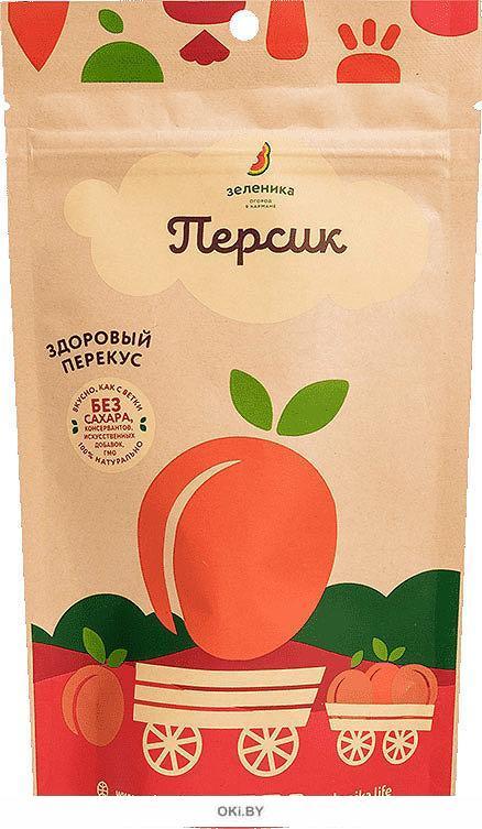 «Зеленика» здоровый фруктовый перекус из персика (20 г)