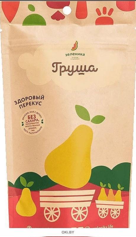 «Зеленика» здоровый фруктовый перекус из груши (20 г)