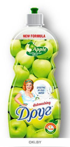 Средство для мытья посуды «Яблоко» 500мл (ДРУГ)
