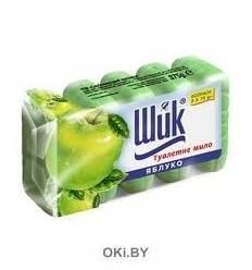 Яблоко - мыло туалетное двухцветное 5х70гр (ШИК)