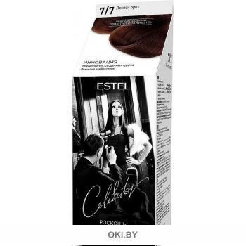 Лесной орех тон 7/7 - краска-уход для волос ESTEL CELEBRITY (без аммиака)