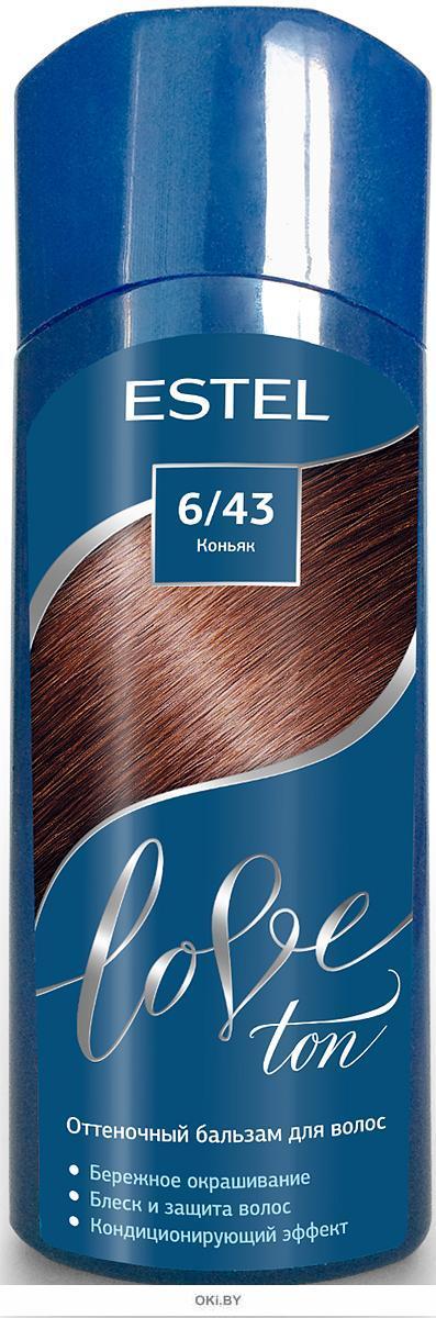 Коньяк тон 6/43 - оттеночный бальзам для волос ESTEL LOVE TON